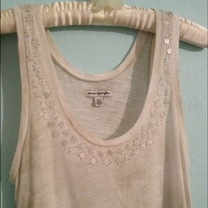 American Eagle top with sequins