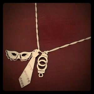 Jewelry - (2) 50 shades of Grey inspired necklace