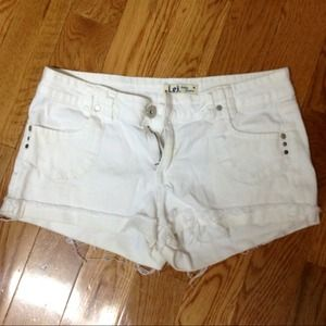 Denim - BOGO!! White Denim Shorts