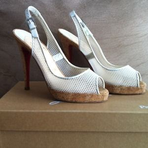 Christian Louboutin Shoes - SOLD TO LV3!!Authentic Christian Louboutin Shoes