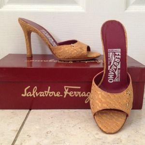 Authentic Salvatore Ferragamo Sandals