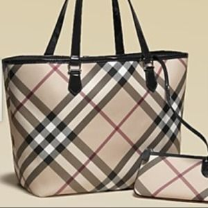 Burberry Handbags - Authentic Burberry Tote