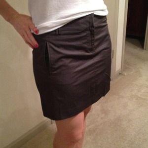 Charcoal JCrew Skirt