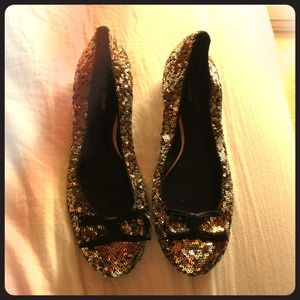 kate spade Shoes - Authentic Kate Spade sequin ballet flats