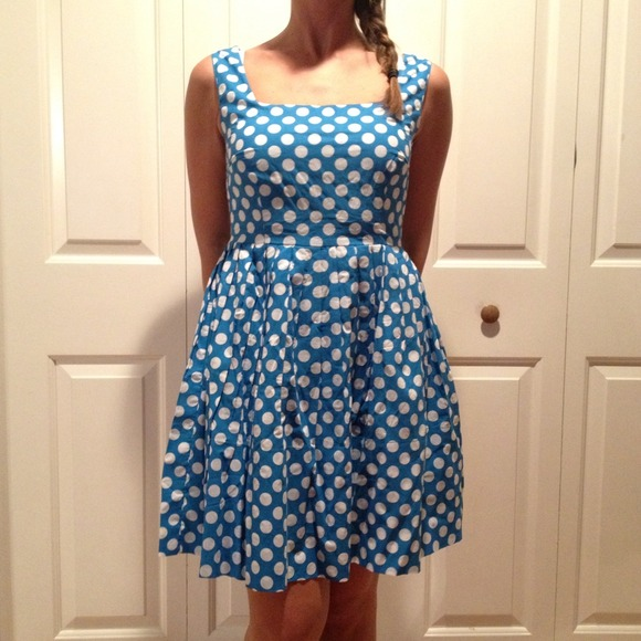 Delia's Dresses & Skirts - Delia's Polka-dot Dress
