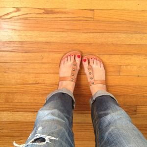 American Eagle Outfitters Shoes - American Eagle studded sandals