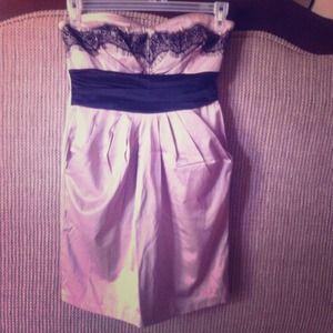 2/$15🛍 FIRM PRICE✂️ strapless lace mini dress