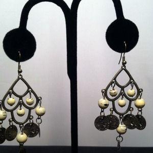 Jewelry - Ivory Chandlier Earrings
