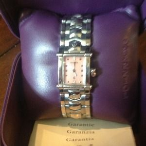 Accessories - **SOLD**  Charriol pink dial watch Retail 1490