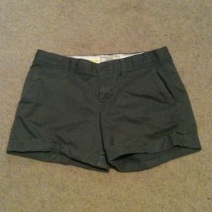 Pants - Dark grey shorts