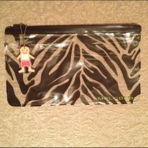 Melobaby Clutches & Wallets - Melobaby - Zebra Print Pouch