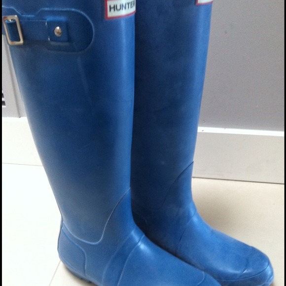 Hunter Boots Boots - Turquoise Hunter Boots, size 8 *no trades 2