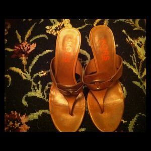 Michael Kors Shoes - REDUCED Michael Kors leather sandals