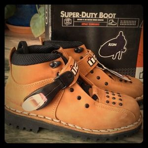Icon Super Duty Motorcycle/ heavy duty work Boots