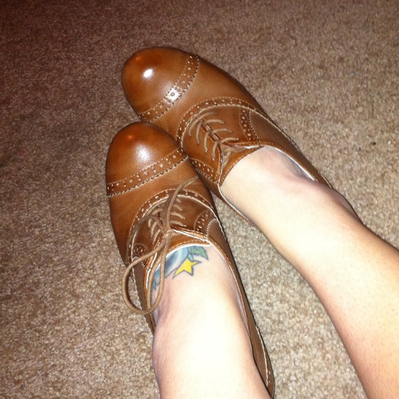 american eagle Shoes - TRADE for @crystaljos - Oxford Inspired Ankle Boot