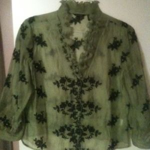 Tops - Blouse & Oriental Shirt RESERVED