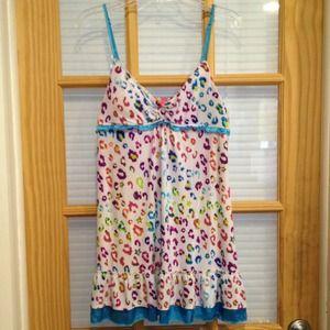 Dresses & Skirts - ❌❌SOLD❌❌ Animal print chemise