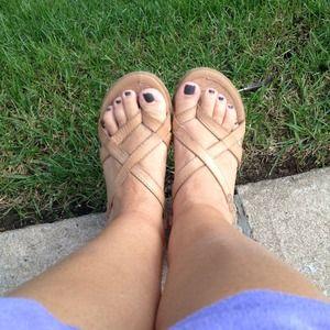 Shoes - Bjorndal flat walking sandal