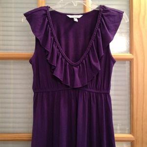 Dresses & Skirts - ❌❌SOLD❌❌ Purple deep v-neck dress