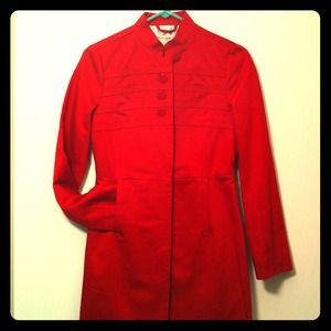 Banana Republic Outerwear - 💥SALE💥NWT banana republic red military trench