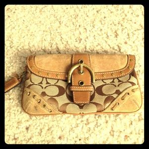 Authentic Large Coach Wallet