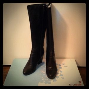 Faryl Robin Boots - Faryl Robin leather knee high boots
