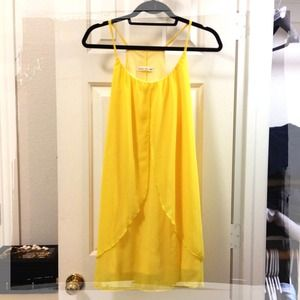 Dresses & Skirts - REDUCED! Flowy Yellow Dress