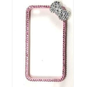 Accessories - Pink Bling iPhone 4/4S Bumper Case