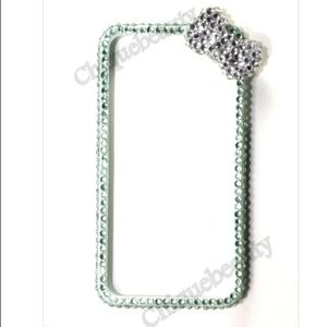 Accessories - Mint Bling Bumper iPhone 4/4S Case