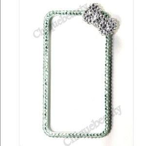 Mint Bling Bumper iPhone 4/4S Case