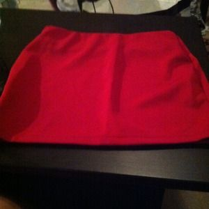Dresses - Perfect holiday mini skirts, red and blacksequins.