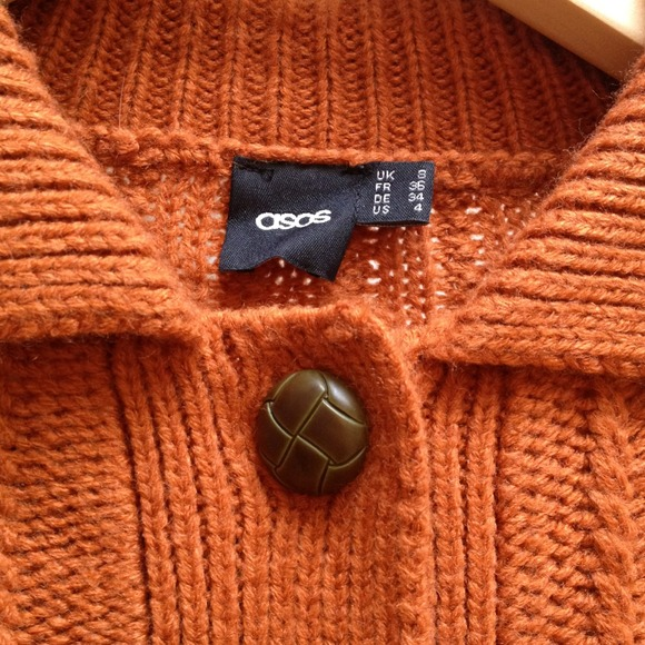 ASOS Sweaters - Asos orange sweater - perfect for fall!!