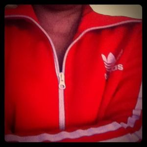Adidas Red Sporty Jacket