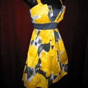 ruby rox Dresses & Skirts - Yellow Floral Dress