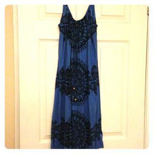 Juicy Couture Cobalt Blue Dress