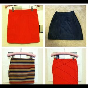 Dresses & Skirts - FOUR SKIRT BUNDLE @jessy123