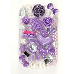 Accessories - Purple Anna Sui Blackberry Bold 9900 Case