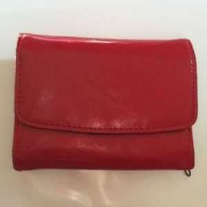 Clutches & Wallets - Red cute wallet with two button