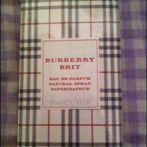 Burberry Accessories - *Bundle! Burberry Brit perfume& turquoise pendant