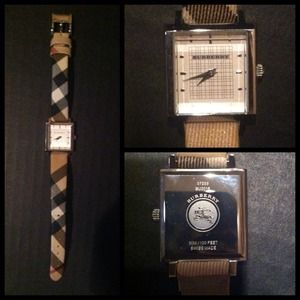 Burberry Jewelry - Authentic Burberry Wrist Watch
