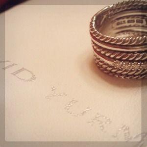 David Yurman Jewelry - David Yurman Crossover Pave Diamond Ring 3