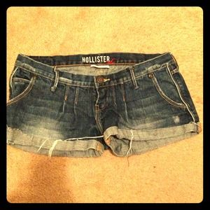 Hollister Denim - Hollister denim shorts