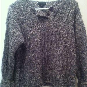 Vintage fisherman chunky knit sweater