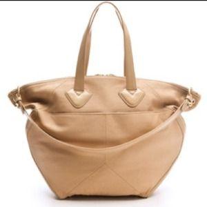 Pour la Victoire Handbags - NWT Pour La Victoire Brice Satchel in Nude