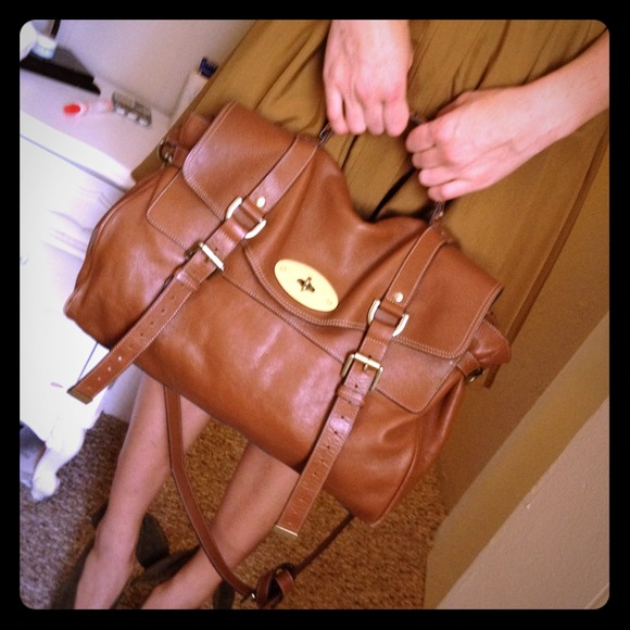 [SOLD] Brown Leather Bag