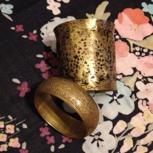 unknown Jewelry - REDUCED: 2 Brass Bracelets