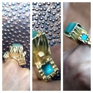 Yves Saint Laurent Jewelry - Reserved CG* Yves Saint Laurent Aventurine Ring