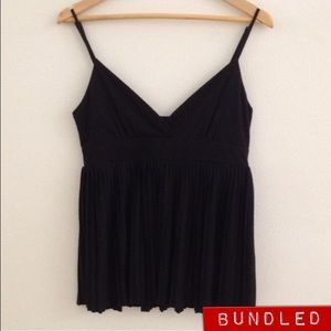 NWOT Zara Evening Collection Baby Doll Top