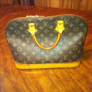 Louis Vuitton Handbags - ✋Sold to @melmelqueenb ✋Authentic LV Alma Bag