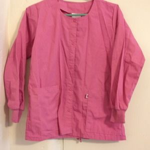 ReducedPink scrubs jacket